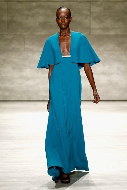 Ángel Sánchez fue uno de los favoritos de la semana de la moda con corte...