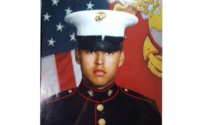 Rubén Velasco, uno de los tres marines desaparecidos en la ca&iac...