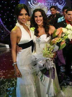Alejandra Espinoza fue la primera reina de Nuestra Belleza Latina.
