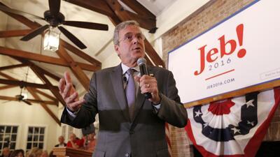 Jeb Bush presenta en Pensilvania su plan de energía