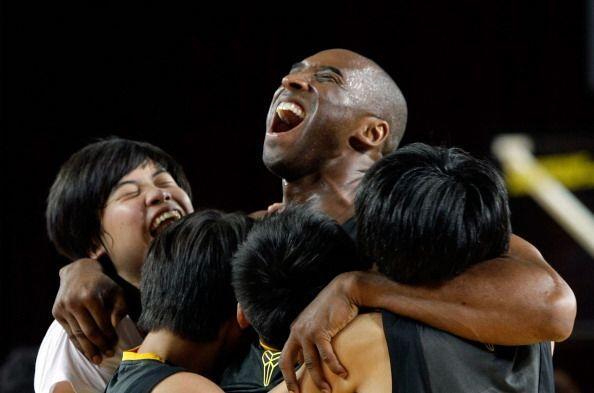 Kobe Bryant es uno de los jugadores más queridos por toda la afición.