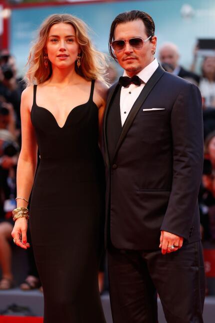Johnny Depp en el Festival de Venecia
