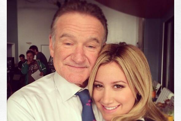 """Robin subía imágenes a su cuenta de Instagram. """"Ha sido una gran semana..."""