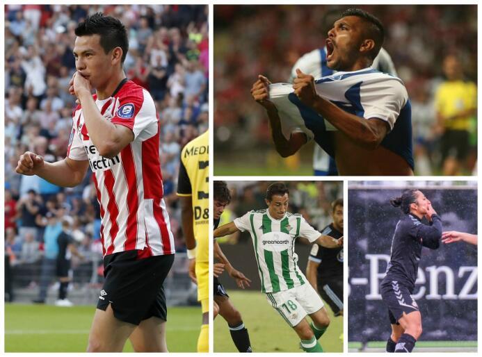 'Tecatito', 'Chucky' y y Herrera marcaron el paso para los mexicanos en...