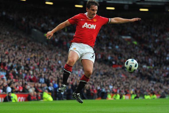 Neville jugaba con tanta entrega como el del día de su debut.