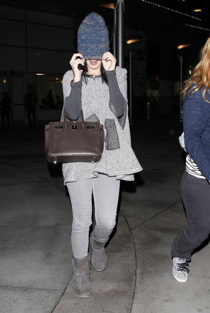 Katy Perry intentó esconderse del juicio 'fashionista' de esta semana, p...