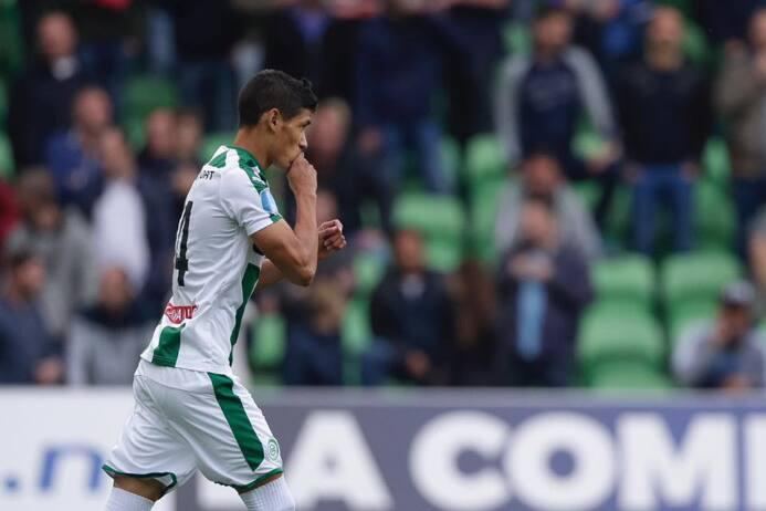 Groningen [4]-2 Vitesse: Urile Antuna sumó su tercer partido como titula...
