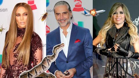 Promo fobias de famosos