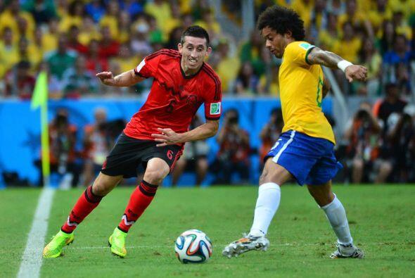 La clase de Héctor Herrera quedó ratificada durante Brasil 2014, ya que...