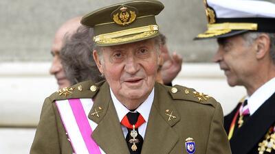 El último desfile militar Juan Carlos I antes de abdicar la corona