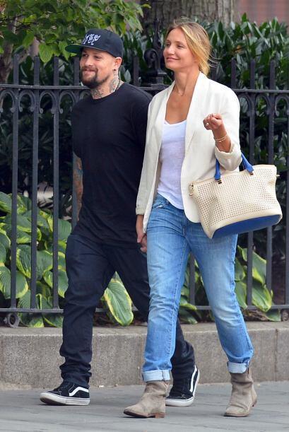 La pareja se encontraba paseando por la Gran Manzana, Camero presum&iacu...