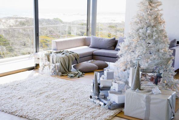 Además usar blanco en la decoración de nuestro hogar le da un toque de e...