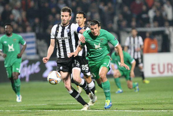 Esto porque el Rubin Kazan reaccionó ante el PAOK Salonika.