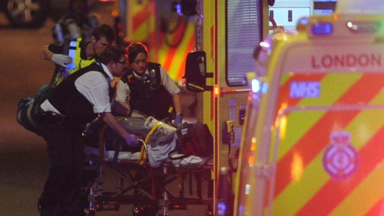 El ataque ocurrió en el puente de Londres y en el mercado Borough.