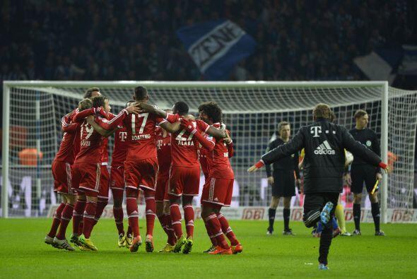 El equipo de Munich festejó su vigésimo cuarto título de la Bundesliga c...
