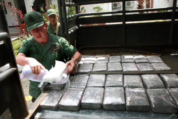 En lo que va de año, se han decomisado 54 toneladas de sustancias prohib...