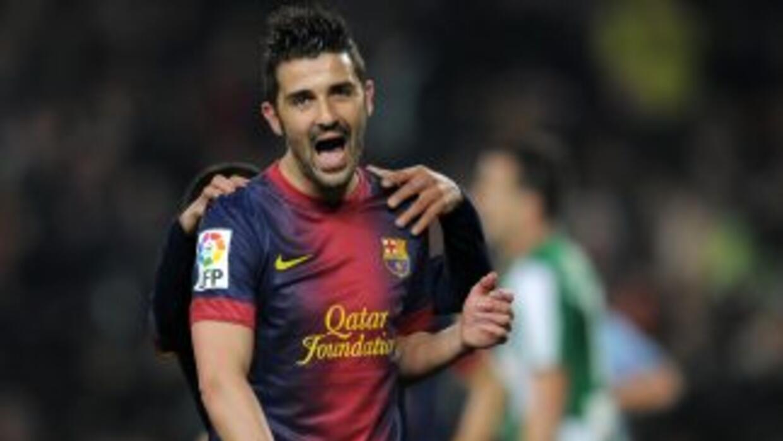 Según Roura, Villa seguirá en el club barcelonista el resto de la tempor...