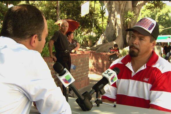 La serie debutó en noviembre con Pablo Dávila Rodriguez, un inmigrante o...