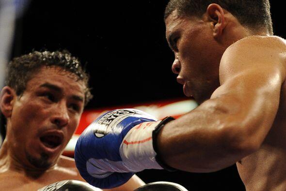 López y Márquez protagonizaron una de las peleas más disputadas y encarn...