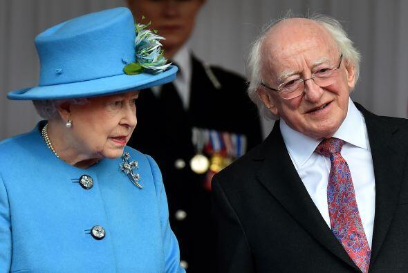 El presidente de Irlanda, Michael D. Higgins, inició una histórica visit...