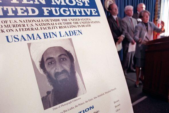 El FBI puso a Osama Bin Laden al tope de la lista de los más buscados. L...