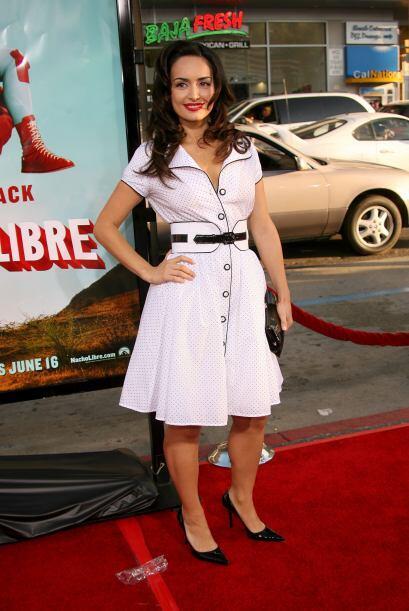 Otra mexicana destacada es la actriz Ana de la Reguera, quien tambi&eacu...