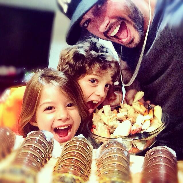 William Levy y sus hijos