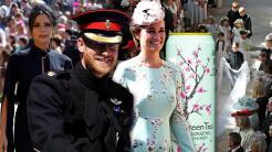 La boda de Meghan  y Harry dejó imágenes que llamaron la atención de las...