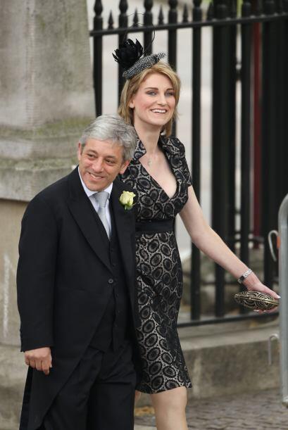 Sally Bercow, esposa del presidente de la Cámara de los Comunes, eligió...