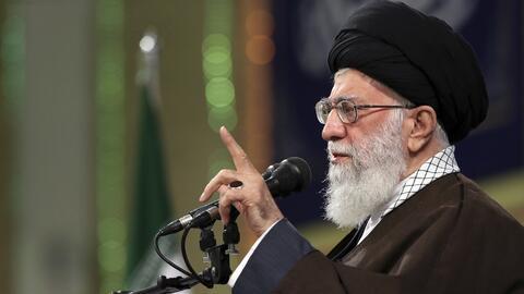 Ayatola Jamenei, líder supremo de Irán.