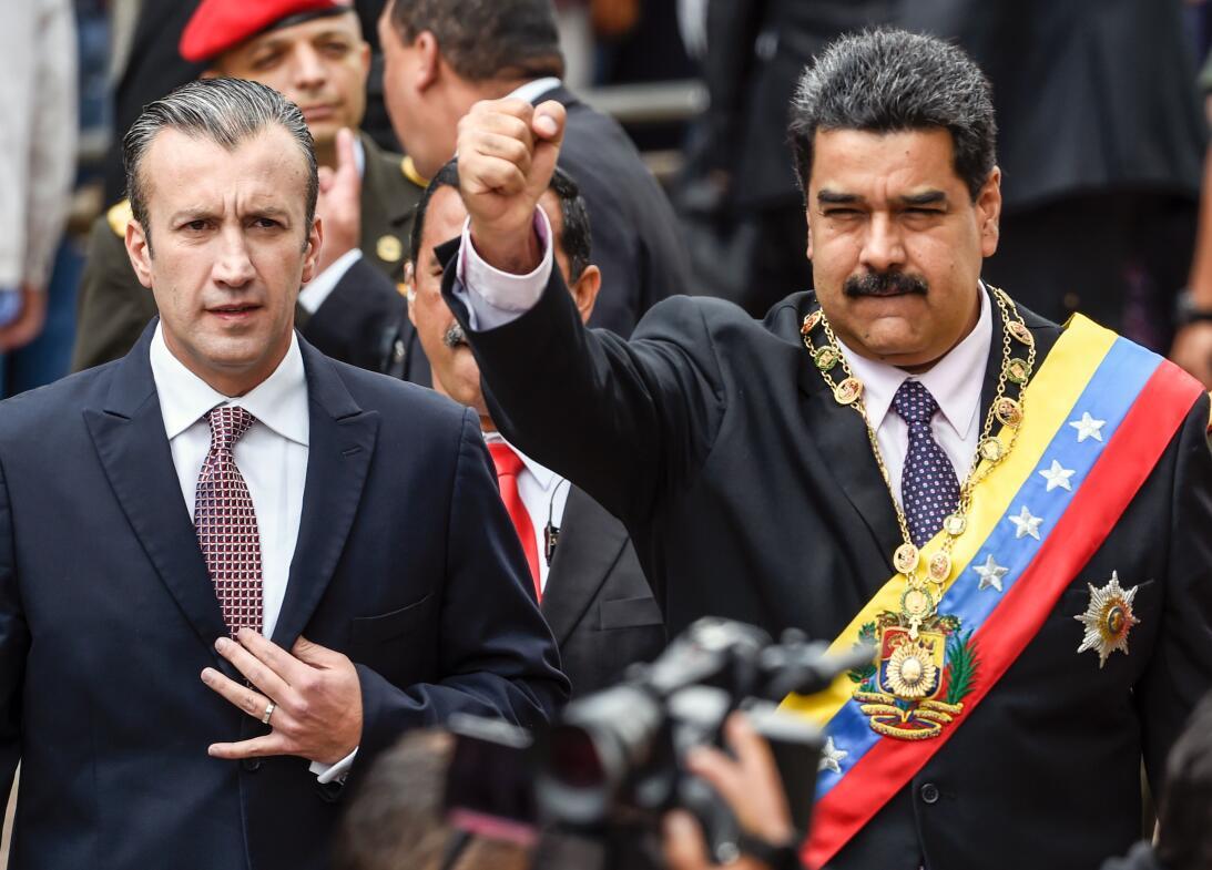 El Aisammi y Maduro