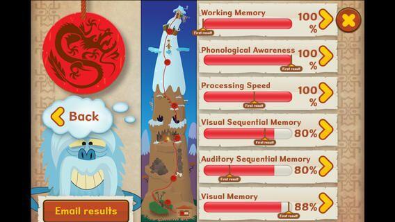 """DyslexiaQuest - Serie de juegos diseñados para """"evaluar la memoria de tr..."""