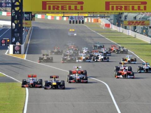 El piloto alemán Sebastian Vettel se convirtió en bicampe&...
