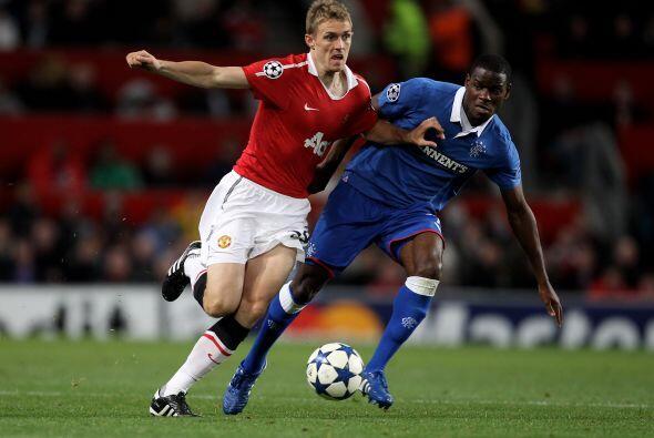 Por su parte, el Manchester United también fungió como local ante el Ran...