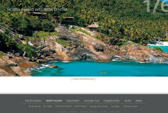 Siguiendo en la lista se encuentra North Island, Hotel Turtle Island, Fr...