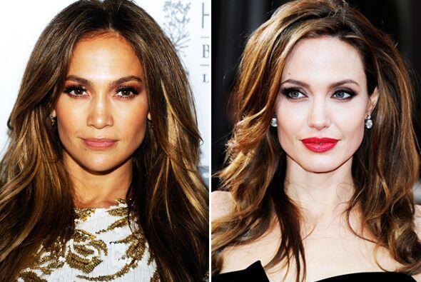 Jennifer Lopez aseguró que tenía el mismo el estilo que Angelina Jolie....