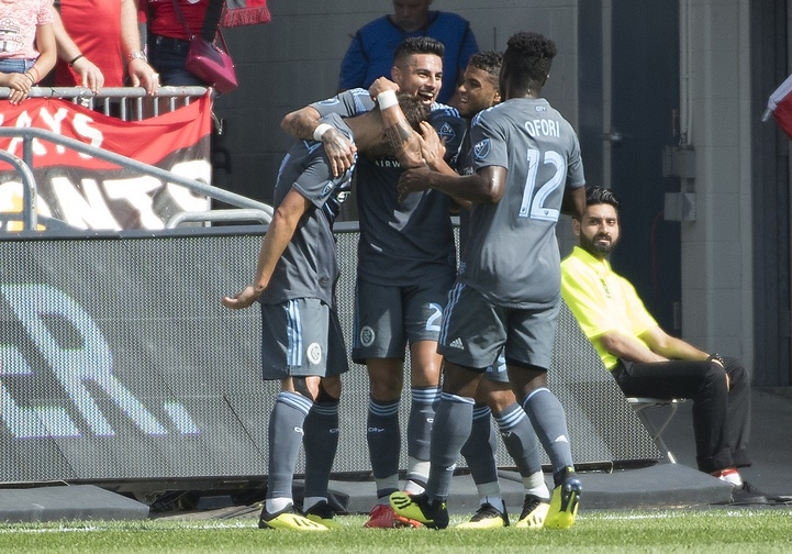 David Villa reappears with goal in victory of NYCFC in Toronto